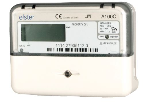 Elster A100 Single Phase Conventional Electricity Meter