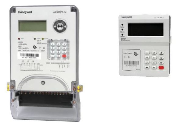 Honeywell 3 Phase Split Type Prepaid Electricity Meter With PLC Keypad