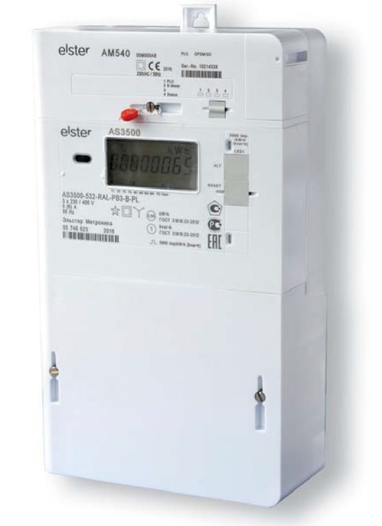 Elster AS3500 - AS3000 3 Phase Smart Electricity Meter