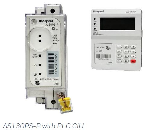 Honeywell Single Phase Split Type Prepaid Electricity Meter With PLC Keypad